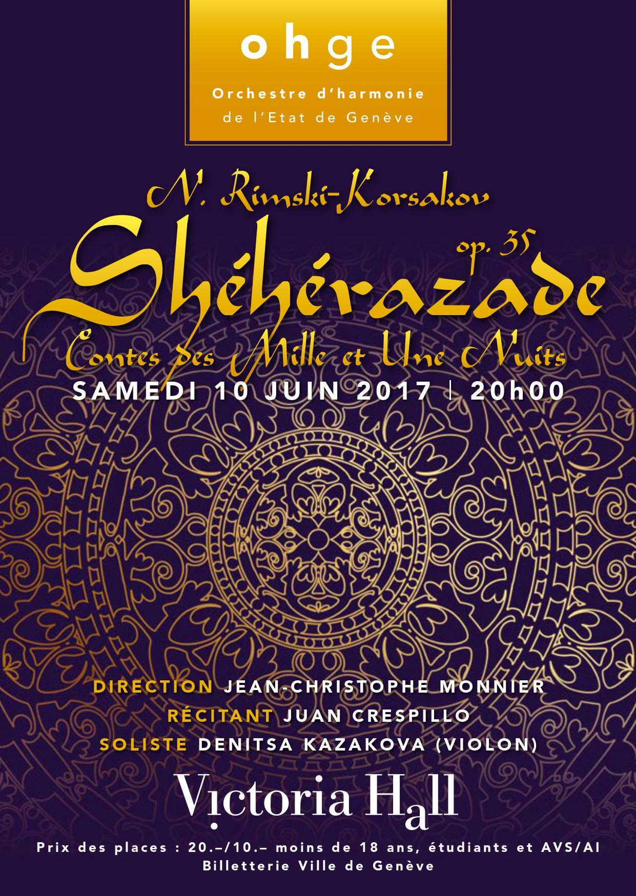 Affiche-Sheherazade